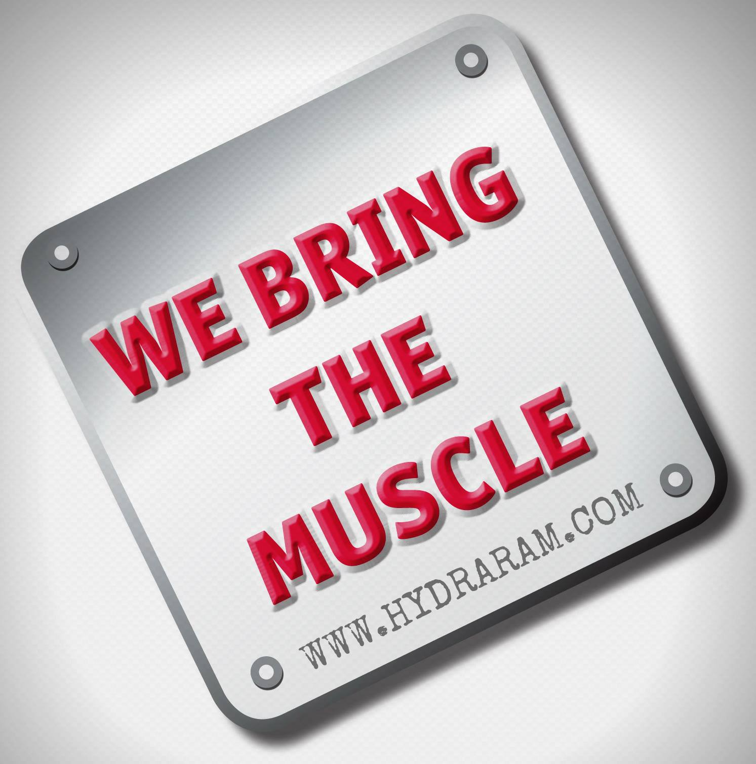 We Bring The Muscle!